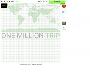 onemilliontrip website